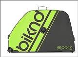 BIKND Jetpack V2 Bike Travel Case Black/Green, One Size