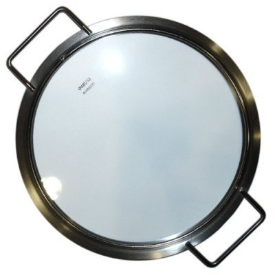 Eva Trio Stainless Steel and Glass Lid with Two Handles, 24 cm by Eva Trio by Eva Trio