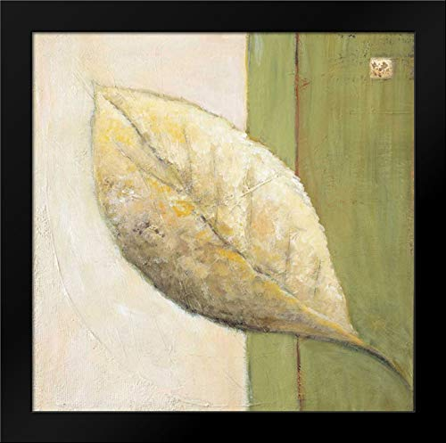 (Leaf Impression - Olive Framed Art Print by Salemink-Roos, Ursula)