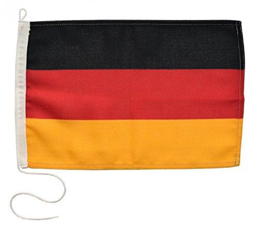Navyline Gastlandflagge Deutschland - 20 x 30 cm