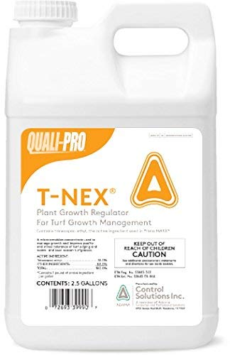 Quali-Pro T-Nex Plant Growth Regulator (Primo Maxx) - Manage Growth, Improve Quality and Color, Helps Produce Healthy, Durable Blades in Turf Grass (2.5 Gallons)