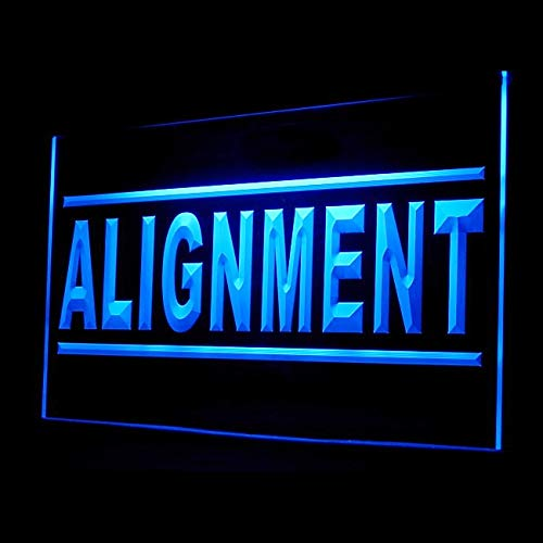 190082 Wheel Alignment Service Save Free Check Display LED Light Sign