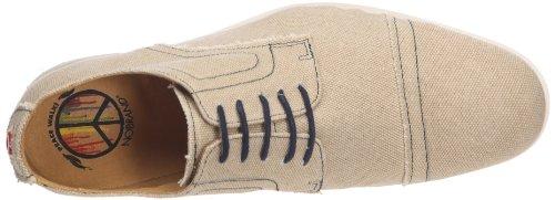 nobrand - Zapatos de tela para hombre Beige