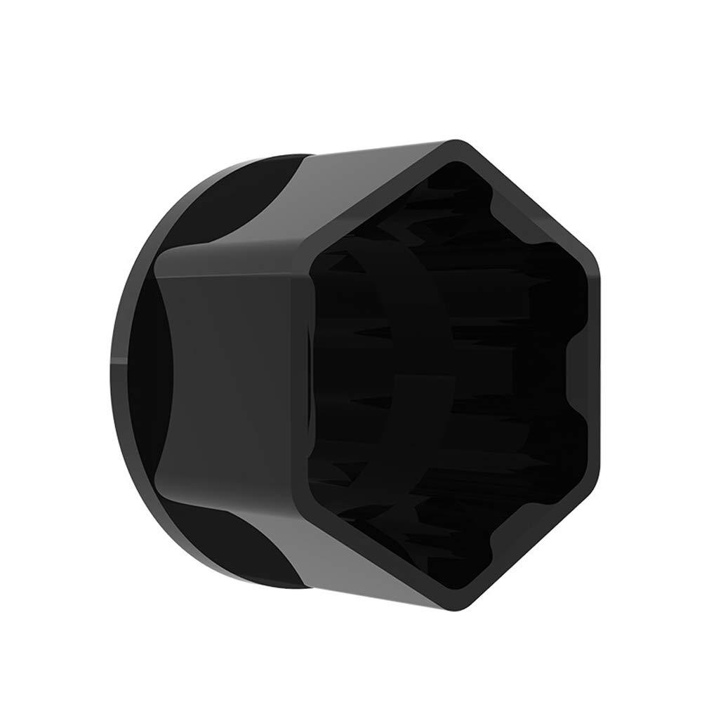 Festnight 20pcs Universal 21mm Wheel Nut Covers Lug Nut Caps Screw Protector