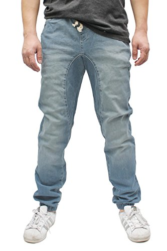 Americano Men's Vintage Drop Crotch Denim Jogger ()