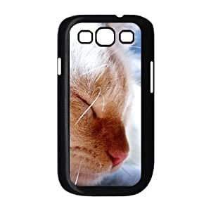 Vety Cat Samsung Galaxy S3 Cases the Cat, Cat [Black]