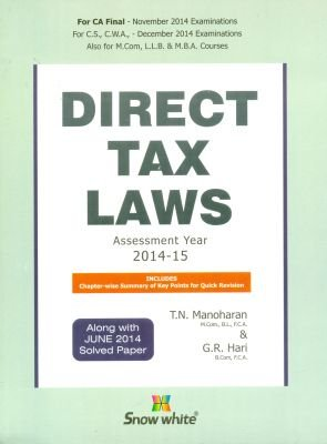 Download Direct Tax Laws Assessment Year 2014-15 pdf