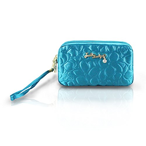 jacki-design-royal-blossom-collection-compact-cosmetic-organizer-with-wristlet