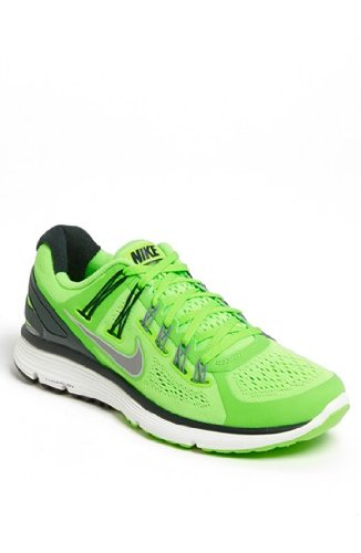 NIKE LUNARECLIPSE+ 3 - RUNNING SNEAKERS SHOES (10, FLASH LIME/REFLECTIVE SILVER-BLACK SPRUCE-COOL GREY)