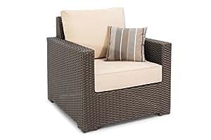 Amazon.com: dorado Coast Living Huntington Lounge silla y ...