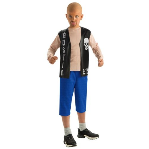 Rubie's Costume Co H/S Stone Cold Steve Aust Costume, Large, Large