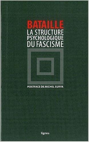 En ligne téléchargement La structure psychologique du fascisme pdf ebook