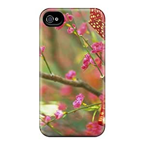 MeSusges CNLspms2407XGITm Case Cover Skin For Iphone 4/4s (china Flowering Tree)