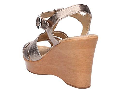 Unisa Damen Sandale Gold