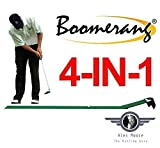 Best Golf Putting Mats - Boomerang Pressure Putting Challenge, Tour Putting Stroke Trainer Review