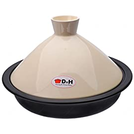 M.V. Trading Tagine Cooking for Cooktop or Oven with Steam Tray 1 Generous rim allows for a secure grip during transport This clay cooking dish is known as donabe, and it is designed for cooking nabemono, a type of Japanese hot pot dish featuring a variety of ingredients cooked in a broth at the table You an easily create a cooking pot of traditional Japanese cuisine