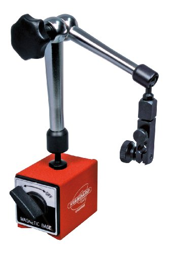 Standard Gage 01664002 Magnetic Stand with Articulated Arm for Dial Gauge and Comparator, 280mm Arm - Gage Stand Dial