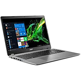 2020 Acer Aspire 3 15.6″ Full HD 1080P Laptop PC, Intel Core i5-1035G1 Quad-Core Processor, 8GB DDR4 RAM, 256GB SSD, Ethernet, HDMI, Wi-Fi, Webcam, Numeric Keypad, Windows 10 Home, Steel Gray