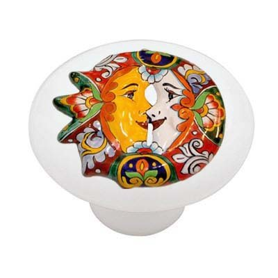 mexican ceramic knobs - 7