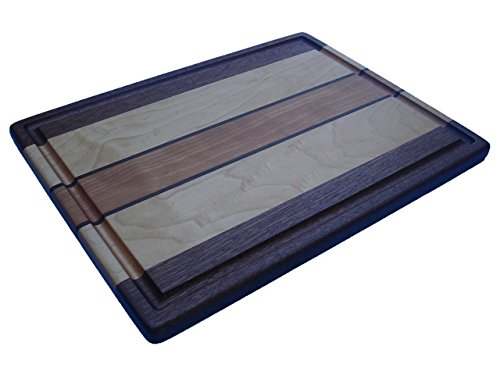 Signature Collection Large Cutting Board - Sapele, Maple, Walnut & Cherry ()
