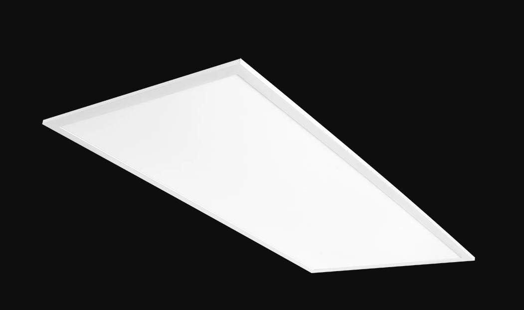 Rab Lighting Ezpan2x4 50n D10 50w Recessed Drop Ceiling Troffer 4000k White Edge Lit 5952 Lumens Dimmable Easy Installation 2x4 Led Flat Panel Light Amazon Com