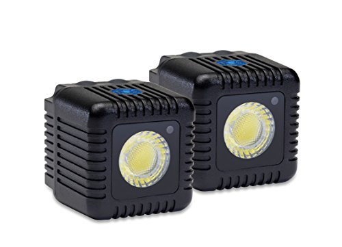 Lume Cube - Bluetooth LED Light (Two Pack - Black) from LUME CUBE