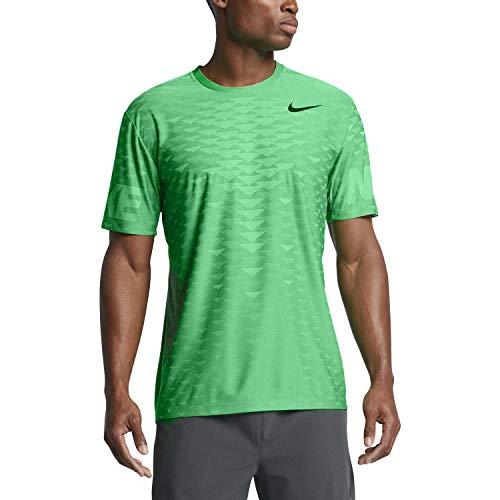 - Nike Men's Dri-Fit Zonal Cooling Training Top-Stadium Green-Large