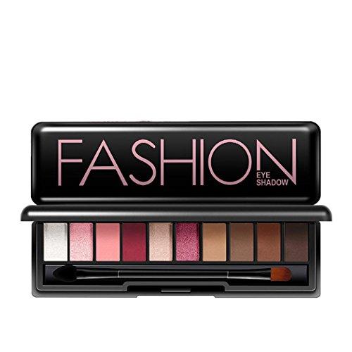 Eyeshadow Palette, Inkach Women 10 Colors Makeup Powder Smok