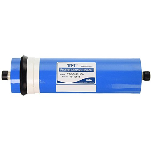 iSpring MC3 2.8Inch x 12Inch 300Gpd Commercial Reverse Osmosis Membrane Blue