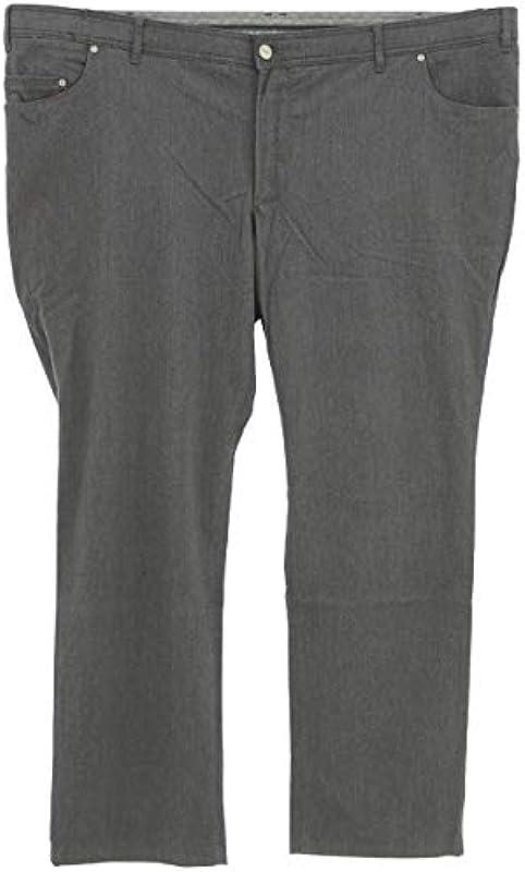 Eurex by Brax jeansy męskie PEP 350 flanelowy szary melanż [22786] - prosty: Odzież