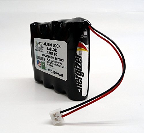 12PC SAFLOK A28110 Replaces HTL11 6V HOTEL DOOR LOCK BATTERY by TOP BATTERY SOLUTIONS (Image #5)