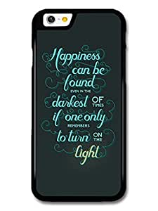 AMAF ? Accessories Happiness Can Be Found Harry Potter Light Quote case for iPhone 6