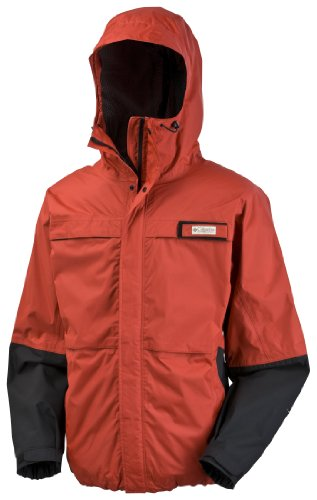 Columbia Men's American Angler Jacket, Sail Red, X-Large