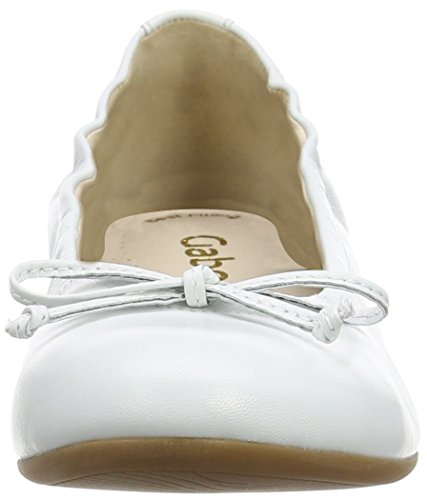 Blanc Ballerines Femme Ribera Gabor Weiss w5HOXtYnq
