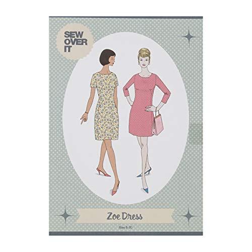 (Sew Over It UK Sew Over It Zoe Dress Pattern Multi)