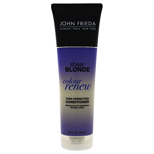 John Frieda Sheer Blonde Color Renew Tone Correcting Conditioner, 8.45 Ounce