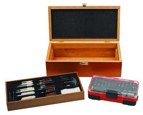Outers Deluxe 25-Piece Gun Cleaning Kit with 51-Piece Screwdriver Set by Outers