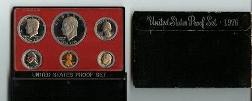 1976 US Mint Proof 5 Coin Set Original Box