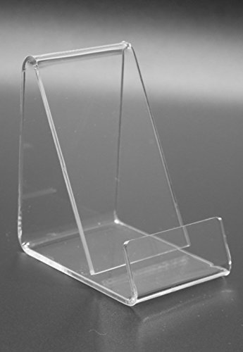 FixtureDisplays Business Card Size Clear Easel Acrylic 4 Cellphone Wallet 20008-E-NF by FixtureDisplays (Image #1)