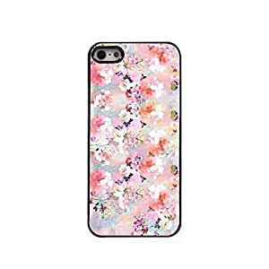 YULIN Oil Painting Design Aluminum Hard Case for iPhone 5/5S