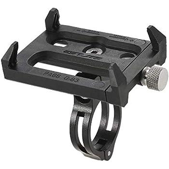 TFHEEY Antideslizante Bicicleta Soporte de Teléfono Ajustable Soporte de Montaje para 3.6-6.2 Inch Teléfono Móvil Inteligente