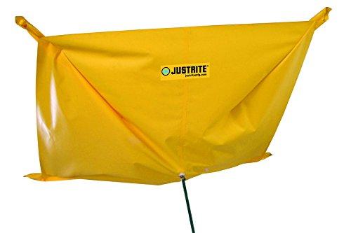 Justrite 28300 Ceiling Leak Diverter, 5' Width x 5' length by Justrite