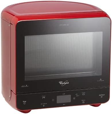 Whirlpool MAX 35/RD - Microondas con función de vapor y de descongelación (13 litros, 700 vatios), color rojo