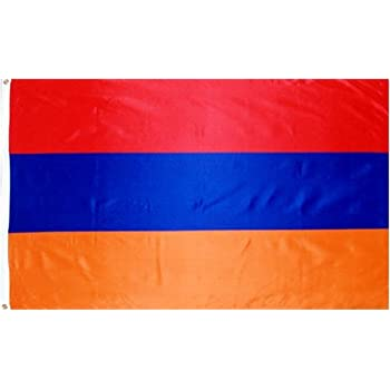 Amazoncom  3x5 Armenian FLAG of Armenia  Outdoor Flags
