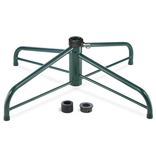 National Tree 32 Inch Folding Stand for 9 10-Feet Trees Fits 1.25 Inch or 2 Inch Pole (FTS-32A-1), 32A-Inch (Stands Tree Trees Walmart Christmas For Artificial)