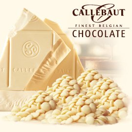 Chocolate White Mousse - Callebaut Chocolate Callets (small disc) White 28.1% cacao 2 lbs