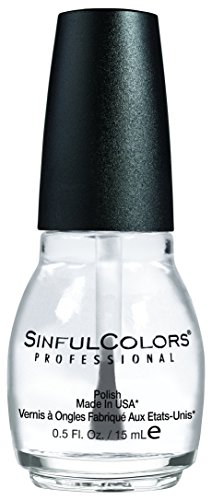 Nail Polish Clear (Sinful Colors, Incsinful Nail Color Clear Coat1064)
