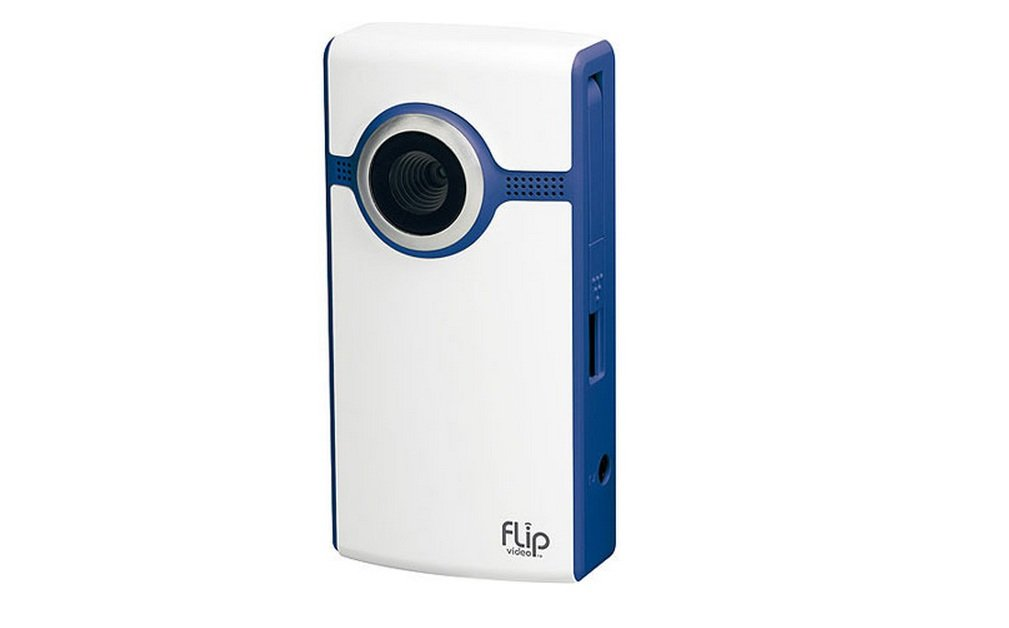 Flip Video Flip Ultra Video Camera - Blue, 4 GB, 2 Hours (2nd Generation)