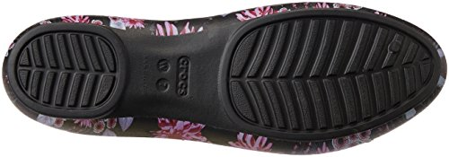 Images of Crocs Women's Lina Luxe Ballet Flat Lina Luxe Flat black