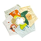 HÖTER Kids Soft Cotton Underwear Little Boys Assorted Boxer Briefs(Pack of 4)